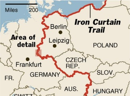 The iron curtain trail - By The Us On Either Side Of The Iron Curtain States Had Made Their Own
